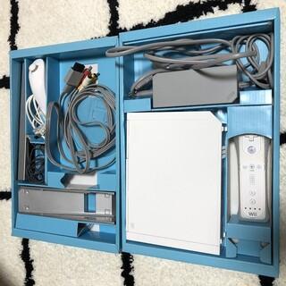 ウィー(Wii)のWii スーパーマリオ Wii fit Wiiリモコン+ セット(家庭用ゲーム機本体)