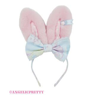 アンジェリックプリティー(Angelic Pretty)のANGELIC PRETTY Moco moco Bunnysカチューシャ(カチューシャ)