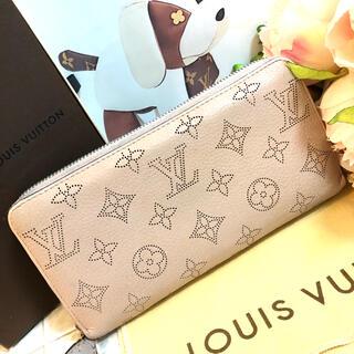 LOUIS VUITTON - LOUIS VUITTON✩.*˚マヒナ マグノリア ラウンドファスナー 財布