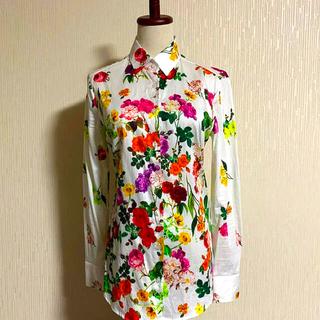 ナラカミーチェ(NARACAMICIE)のほぼ未使用。25000円 ナラカミーチェとても綺麗な花柄プリントシャツブラウス(シャツ/ブラウス(長袖/七分))