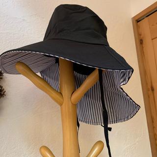 UVカット つば広帽子 新品(ハット)