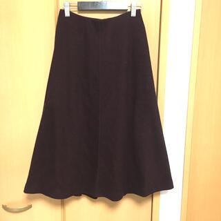ユニクロ(UNIQLO)のフレアスカート ユニクロ(ひざ丈スカート)