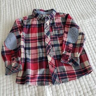 PETIT BATEAU - プチバトー柔らかコットンシャツ90~95