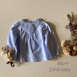 ZARA KIDS - ZARA baby ザラベビー |清涼感溢れるヨークブラウス✾︎*̩̩̥୨୧˖