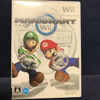 ウィー(Wii)のマリオカートWiiケースのみ(家庭用ゲームソフト)