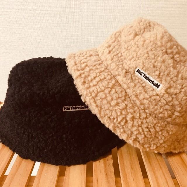 メンズ レディース ボアハット ボア バケットハット バケハ 帽子 ハット 新品 レディースの帽子(ハット)の商品写真