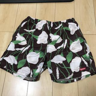 シュプリーム(Supreme)の18ss Supreme Nylon Water Short floral 水着(水着)