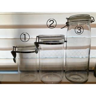 イケア(IKEA)のIKEA  保存瓶 保存容器 キャニスター プラスティック 収納(容器)