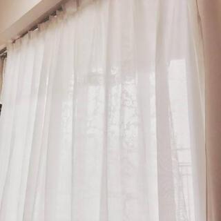 ムジルシリョウヒン(MUJI (無印良品))の無印良品 麻レースカーテン(カーテン)