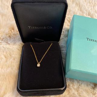 ティファニー(Tiffany & Co.)のティファニー 一粒ダイヤネックレス(ネックレス)