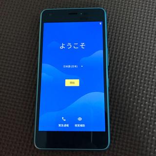 キョウセラ(京セラ)のアンドロイドワン android one 京セラ KYOCERA(スマートフォン本体)