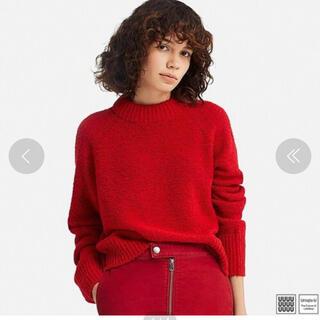 ユニクロ(UNIQLO)のユニクロユー ブークレークルーネックセーター(ニット/セーター)