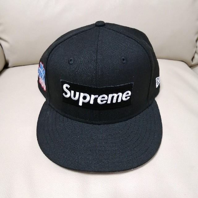 Supreme(シュプリーム)の20fw Supreme NEW ERA ボックスロゴ キャップ ブラック メンズの帽子(キャップ)の商品写真