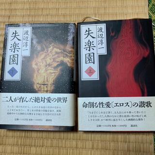 コウダンシャ(講談社)の失楽園 上下 初版本 帯付き(文学/小説)