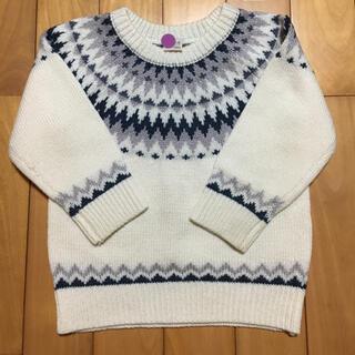 petit main - petit main  セーター 100〜110   M