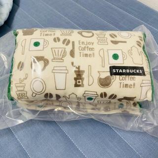 スターバックスコーヒー(Starbucks Coffee)のStarbucks スターバックス 福袋 トライアングル クッション 枕 新品(クッション)