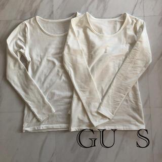 ジーユー(GU)のGU  STYLE-HEAT*S*2枚セット(Tシャツ(長袖/七分))