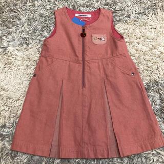 familiar - ♡新品タグ付き♡ファミリア ジャンパースカート 90