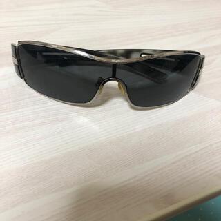 PRADA - プラダPRADA サングラス メンズ 正規品 シルバー ライダース グレー 黒