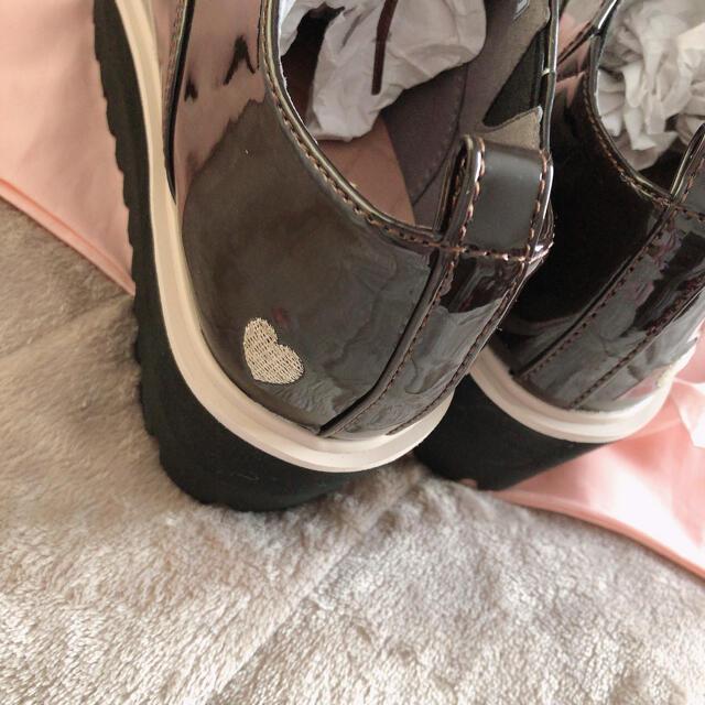 ✿ Heart embroidery oxford shoes レディースの靴/シューズ(ローファー/革靴)の商品写真