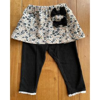 ニシマツヤ(西松屋)の女の子 スカートとレギンスのセット(スカート)