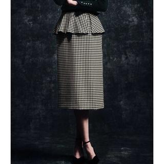STRAWBERRY-FIELDS - 新品タグ付き クラシカルエトレ ペプラムベルト付きタイトスカート