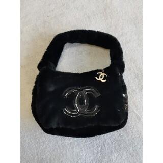 シャネル(CHANEL)の♥極美品♥トードバッグ シャネル ノベルティ ブラック レディース(トートバッグ)