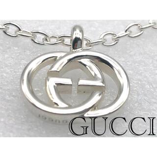 Gucci - 未使用クラス GUCCI ネックレス トップ インターロッキングG GGロゴ