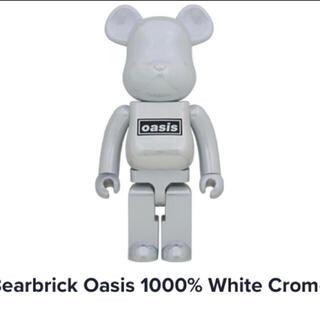 メディコムトイ(MEDICOM TOY)のOASIS × BE@RBRICK WHITE 1000% 新品未開封(キャラクターグッズ)