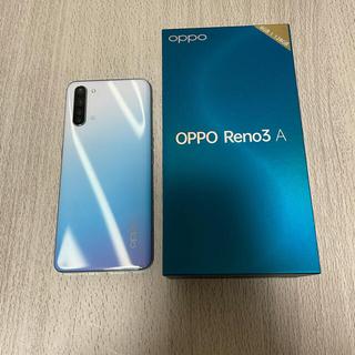 オッポ(OPPO)のOPPO Reno3A WH (RAM6GB / ROM128GB)(スマートフォン本体)