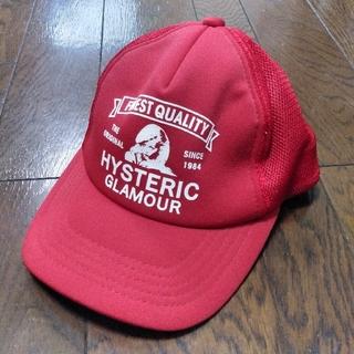 ヒステリックグラマー(HYSTERIC GLAMOUR)のHYSTERIC GLAMOUR ヒステリックグラマー キャップ 帽子 メッシュ(キャップ)