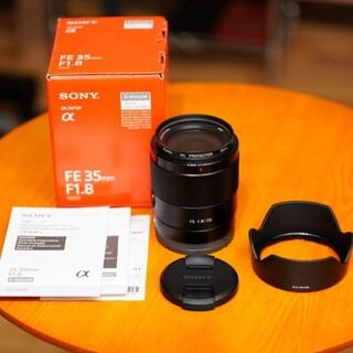 ソニー(SONY)の【未使用】ソニー SONY EF 35mm F1.8 SEL35F18F(レンズ(単焦点))