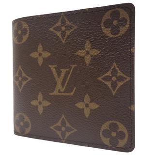 ルイヴィトン(LOUIS VUITTON)のルイヴィトンコンパクト財布 ポルトビエカルトクレディモネ 40800065163(折り財布)