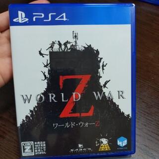 PlayStation4 - Playstation4  ワールドウォーZ