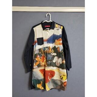 グラニフ(Design Tshirts Store graniph)の【晴れ女様専用】トム&ジェリー Yシャツワンピース(ミニワンピース)