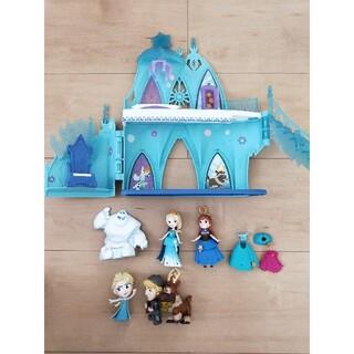 アナトユキノジョオウ(アナと雪の女王)のアナと雪の女王 リトルキングダム エルサのアイスキャッスル(キャラクターグッズ)