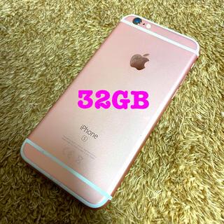 iPhone - iphone6s 32gb ピンク simフリー