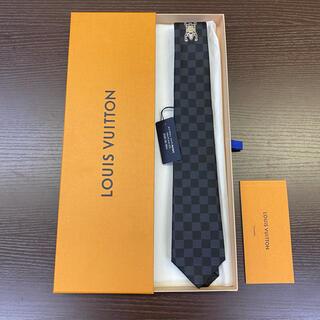 ルイヴィトン(LOUIS VUITTON)の新品 LOUIS VUITTON × NIGO クラヴァット ネクタイ 7cm(ネクタイ)