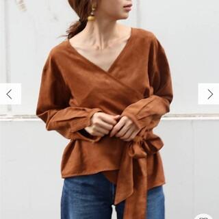 Ungrid - フェイクスウェードシャツ