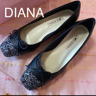 DIANA - 【新品未使用品】DIANA ダイアナ パンプス 黒 22.5㎝