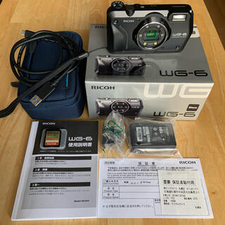 RICOH - 美品 RICOH リコー WG-6 GPS機能付きデジタルカメラ