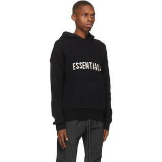 FEAR OF GOD - L】FOG ESSENTIALS Knit Hoodie Sweater