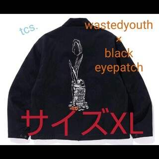 Supreme - BLACK EYE PATCH×WASTED YOUTH ワークジャケット