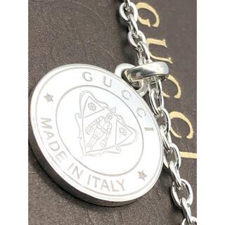 グッチ(Gucci)の展示品クラス 美品 GUCCI ネックレス クレスト Gロゴ シルバー925(ネックレス)
