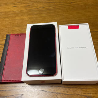 iPhone - iphone8  256GB   RED  SIMフリー