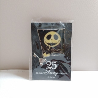 ディズニー(Disney)のディズニーランド 25周年 ジャック ピン 非売品(ノベルティグッズ)