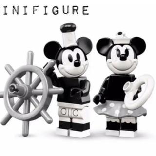 Disney - ディズニー ミッキー ミニー LEGO セット レゴ 蒸気船ウィリー