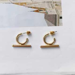 ビューティアンドユースユナイテッドアローズ(BEAUTY&YOUTH UNITED ARROWS)の#792 import pierce : Ω OHM gold(ピアス)