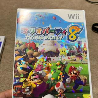 ウィー(Wii)のマリオパーティ8  wii(家庭用ゲームソフト)