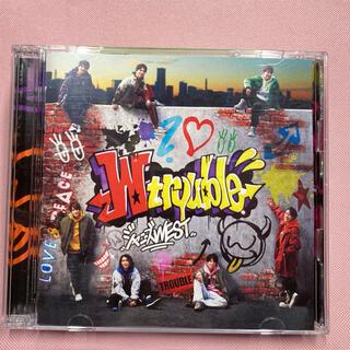 ジャニーズWEST - ジャニーズWEST「W trouble」 初回盤B